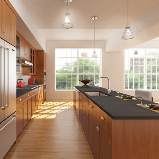 Love Lane Mews Kitchen - Brooklyn Heights Apartments for Sale