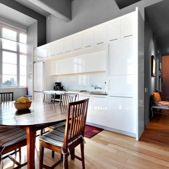 Arris Lofts Kitchen - LIC Apartmetns for Sale