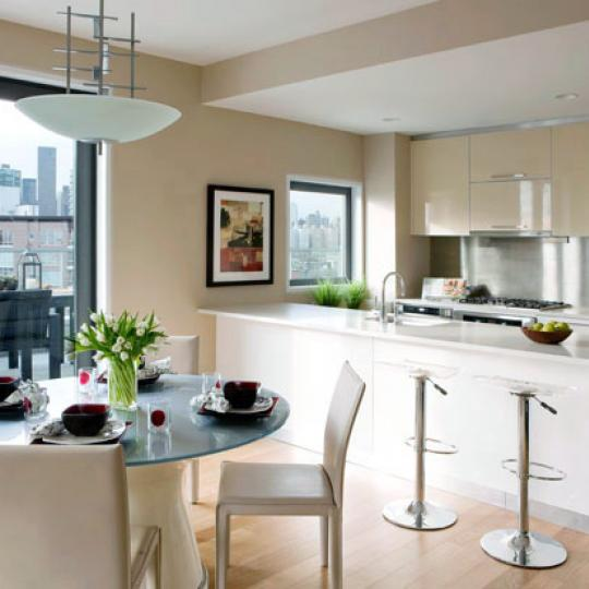 L Haus Kitchen - Long Island City Condos for Sale