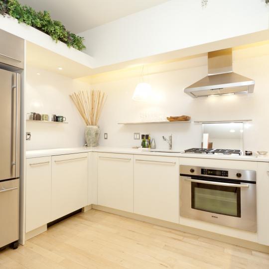 Kitchen - New York - Condominiums - Downtown by Starck