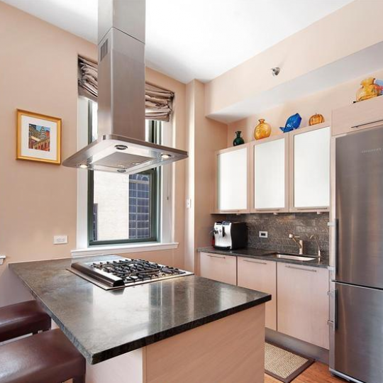 Greenwich Place Kitchen - Financial District Condos for Sale