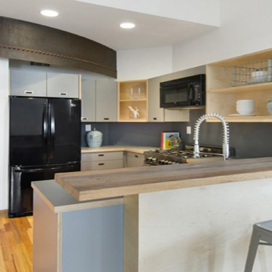 Kitchen- Kirkman Lofts- condo for sale in NYC