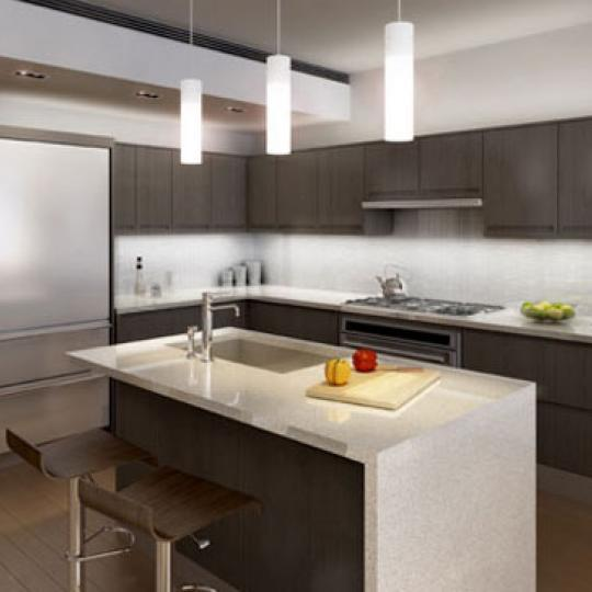 350 West 23rd Street Kitchen - NYC Condos for Sale
