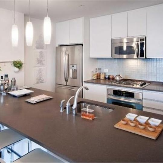 Kitchen at 306 Gold Street Building - Brooklyn Condos for Sale