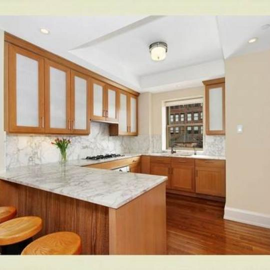 Kitchen - Parkwood Building- Condominiums - Midtown East
