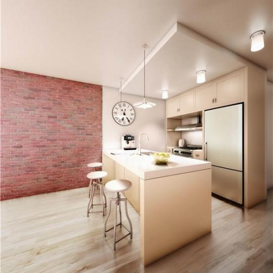 Kitchen - The Bindery - Apartment for sale - Long Island City
