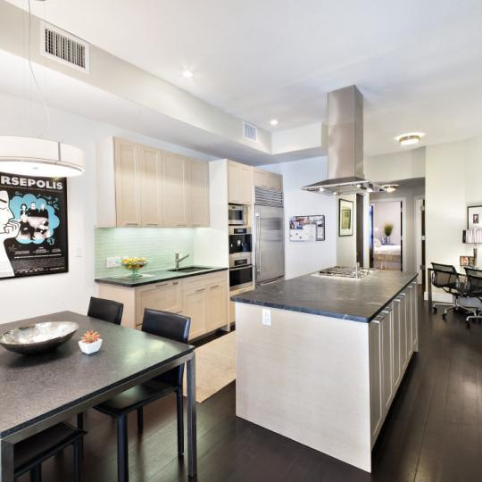 Kitchen - Dining area - The M at Beekman - Manhattan Apartments