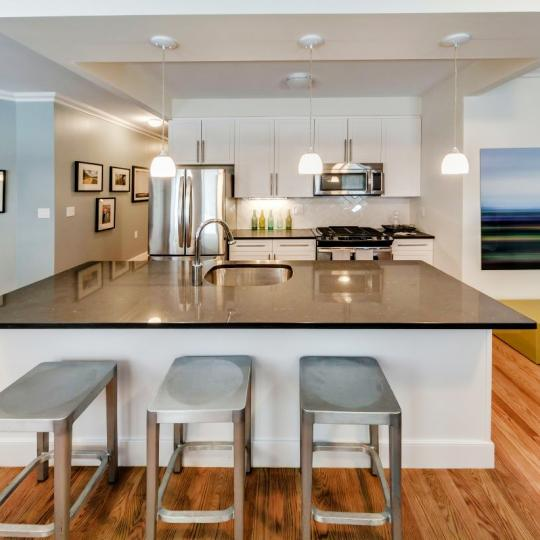 Kitchen- The Strathmore- NYC condo for sale