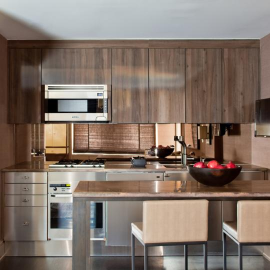 Trump International - High Rise Building- Apartments for sale- kitchen