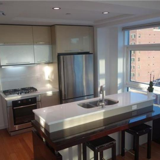 Kitchen at 24-15 Queens Plaza North - LIC Condominiums for Sale