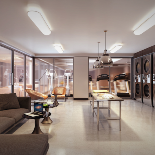SIXTYFOUR at 300 E 64th Street Laundry Room Amenities Apartments for Sale