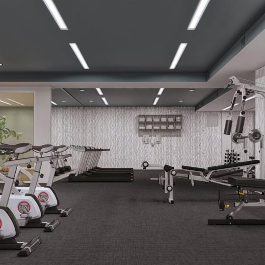 Apartments for sale at 62 Avenue B in NYC - Fitness Center
