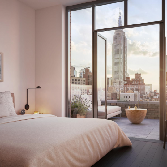 Apartments for sale at The Lindley in NYC - Bedroom