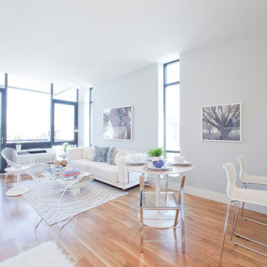 Living Room- 214 Green Street- condo for sale in NYC