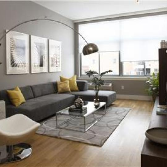 Living Room- 29 South 3rd Street- condominiums for sale in Brooklyn
