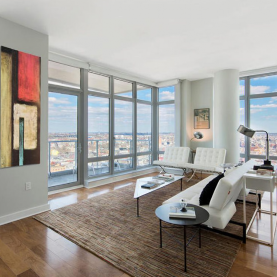Living Room- 47 North 4th Street- condo for sale in Brooklyn