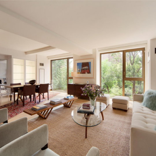 Living Room- 50 Gramercy Park North