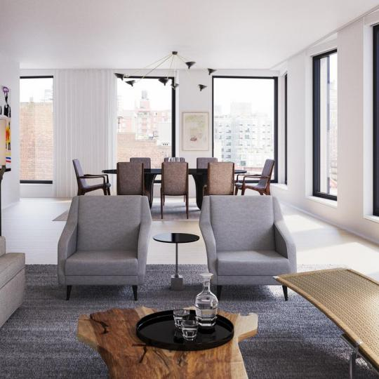 Living Room- 505 West 19th Street
