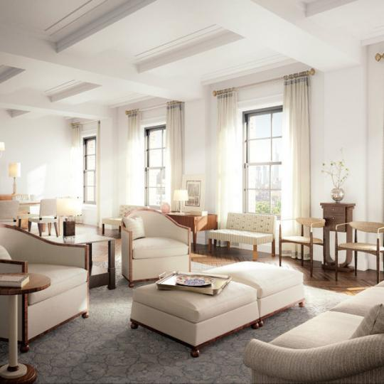 150 West 12th Street- Living Room- NYC condo for sale