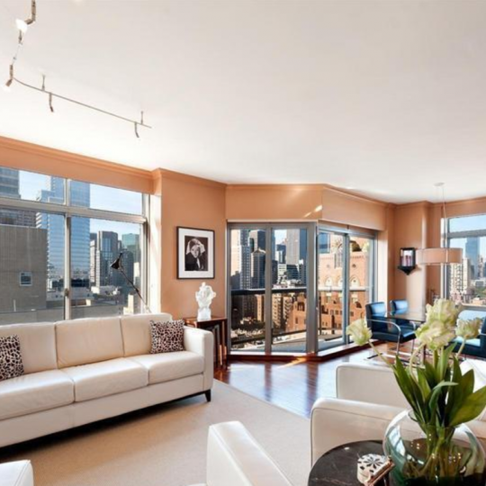 Living room - 188 East 64th Street Condos for sale