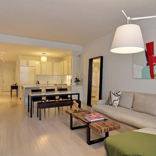 Living and Dinind area - The Cammeyer NYC Condos - 650 Sixth Avenue