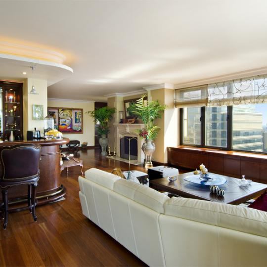 Living Area - 117 East 57th Street - New York City