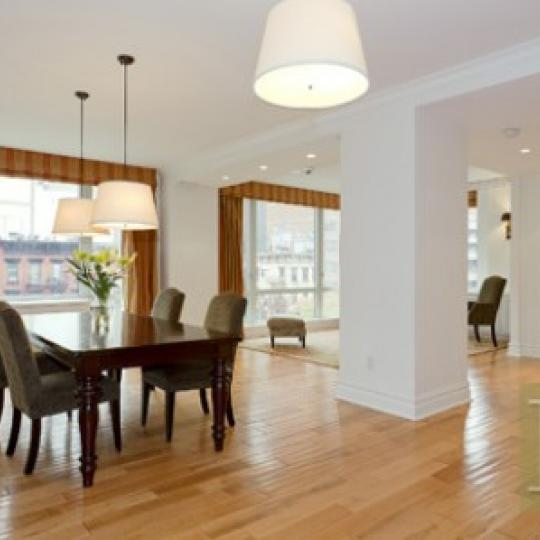 Dining Living Room - 401 E 60th - Luxury Condos - NYC
