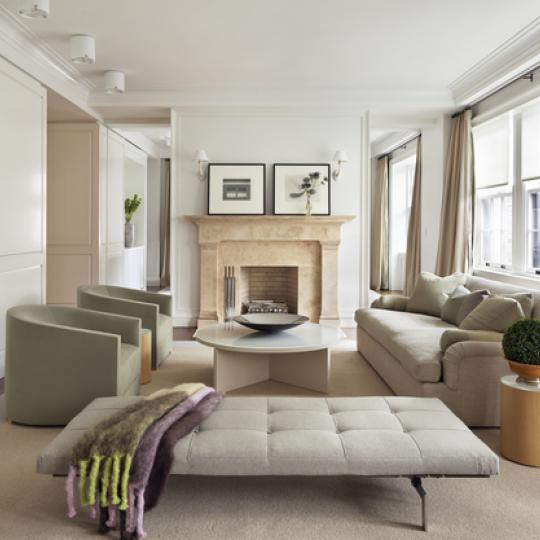 Living Room - The Marquand Building - Upper East Side