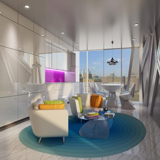 Living Room - 1655 Madison Avenue - Apartments - Upper East Side