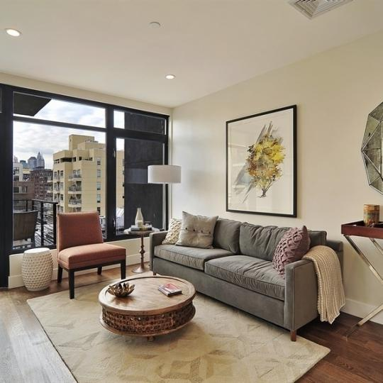 Living Room - 102 Gold Street - Apartments For Sale