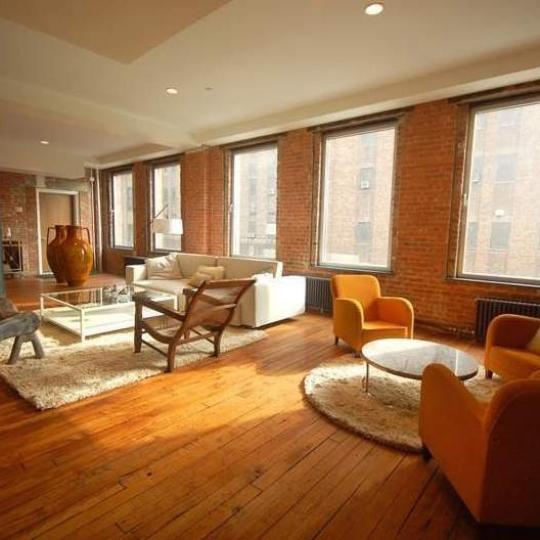 Lifesaver Lofts New Construction Building Living Room - NYC Condos