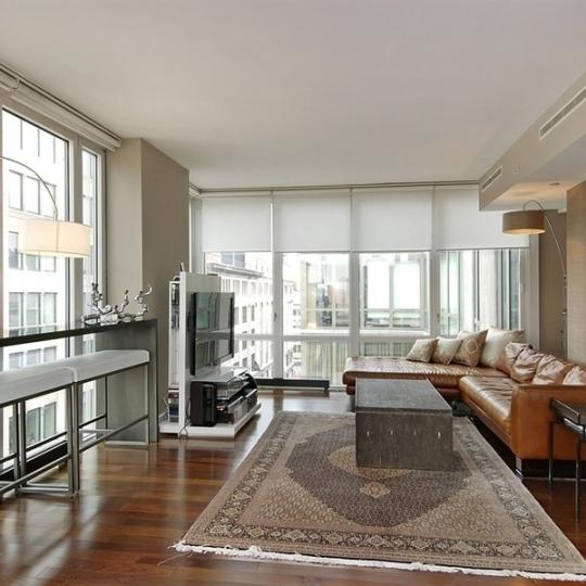 Living Room - 130 West 19th Street - Condos - Chelsea