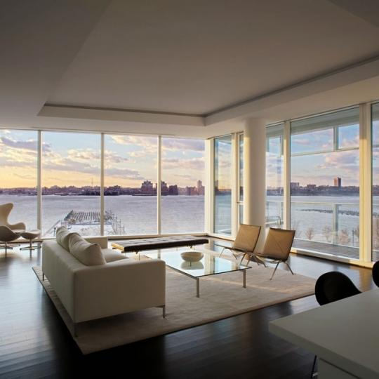 165 Charles Street Living Room - NYC Condos for Sale