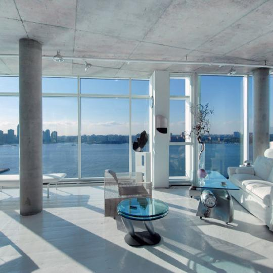 173 Perry Street - living room - NYC Condos for Sale in West Village