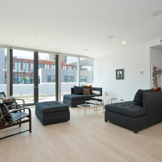 185 Plymouth Street- living room - condo for sale in Brooklyn