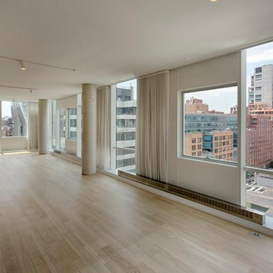245 Tenth Avenue Living Room – Manhattan Condos for Sale