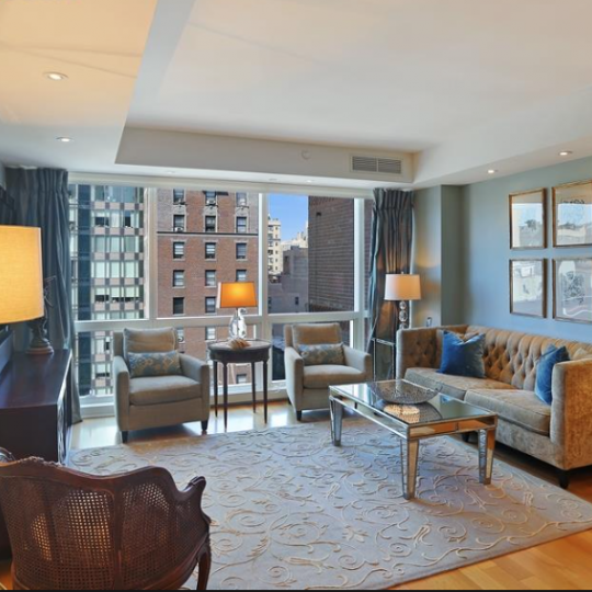 2628 Broadway Living Room – Manhattan New Condos