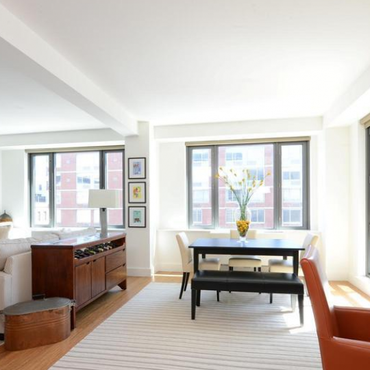 Living Room - 305 West 16th Street Apartments