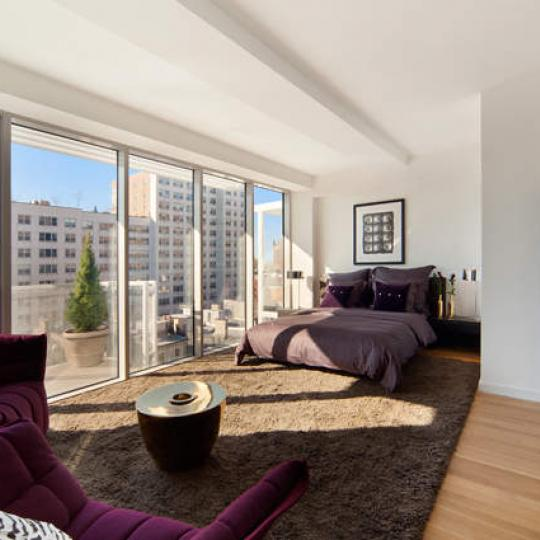 Modern 23 Living Room - Manhattan Condos for Sale
