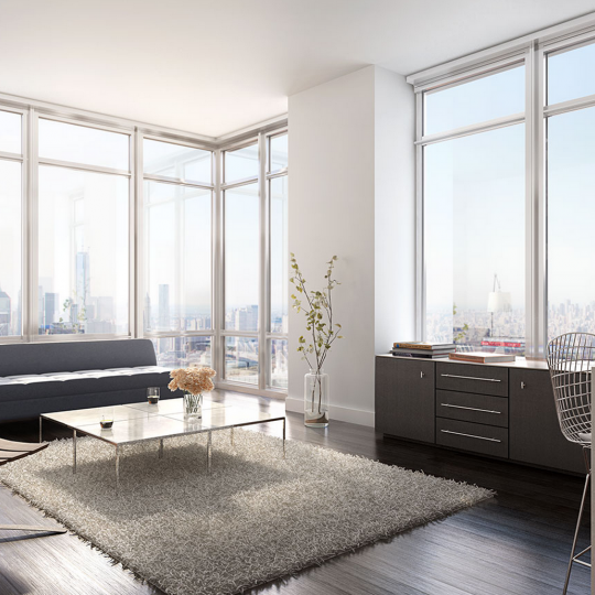 Living Room- 388 Bridge Street- apartment for sale in NYC