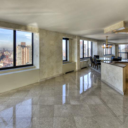 Living Room with View - The Oxford Apartments on the Upper East Side
