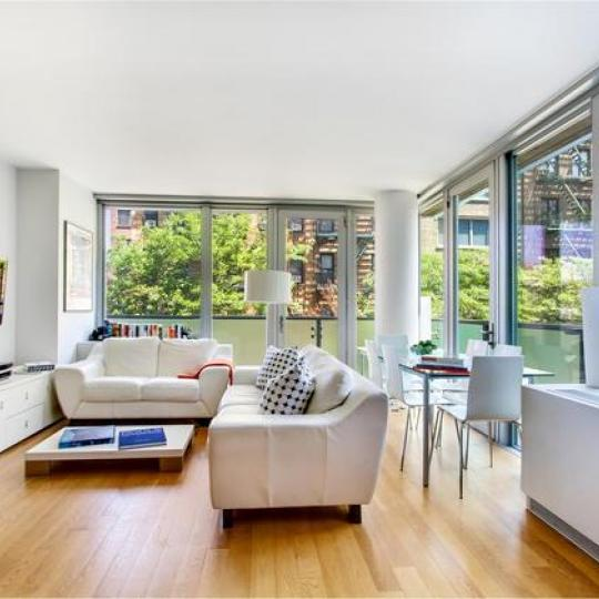 Chatham 44 Living room - 464 West 44th Street Condos for Sale