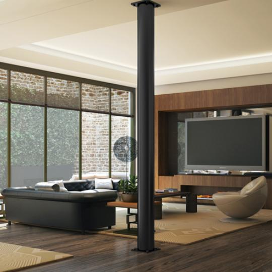 Living Room- 66 East 11th Street- luxury condos for sale in NYC