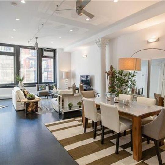 111 Hudson Street Condos - Living Room