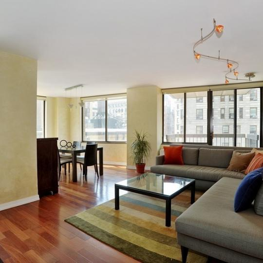 Madison Green - Living Room - NYC Condos for Sale