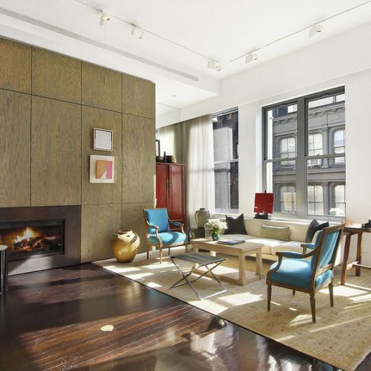 Living Room - Mercer Greene - Soho - Condo for Sale - Manhattan