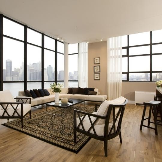 One Brooklyn Bridge Livingroom - Aparments for Sale