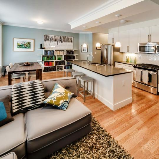 Living Room- The Strathmore- Harlem condo for sale