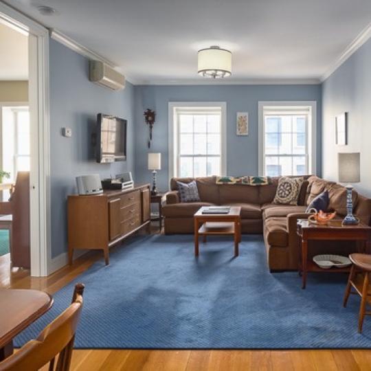 Livingroom - Strivers North - West Harlem Condos For Sale