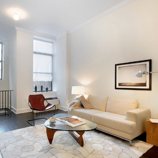 Livingroom - The Savoy West - Harlem Apartments For Sale